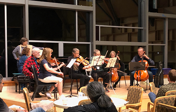 Icicle Creek Adult Chamber Music Retreat